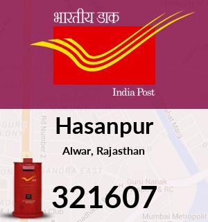 Hasanpur Pincode - 321607
