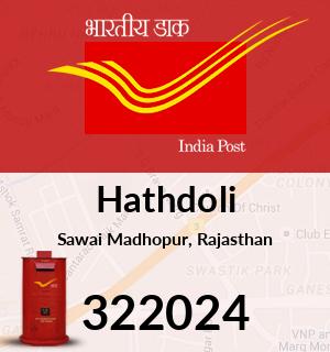 Hathdoli Pincode - 322024
