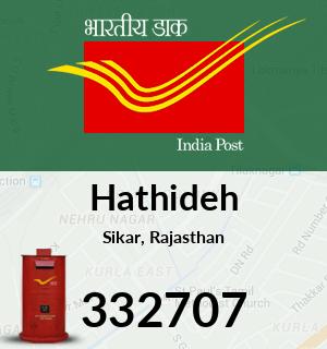 Hathideh Pincode - 332707