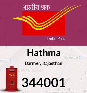 Hathma Pincode - 344001