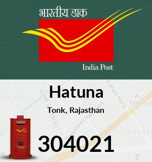 Hatuna Pincode - 304021