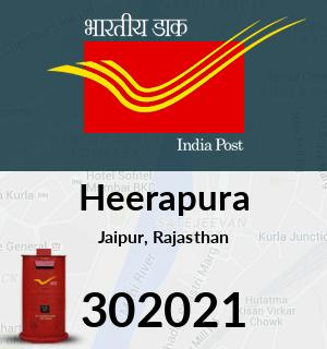 Heerapura Pincode - 302021