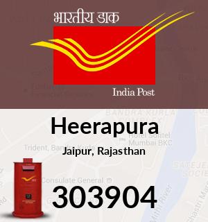 Heerapura Pincode - 303904