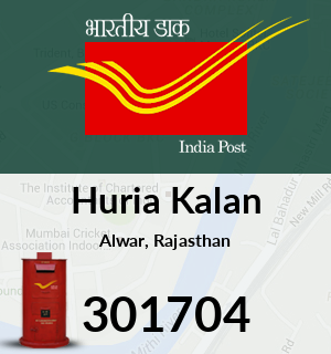 Huria Kalan Pincode - 301704