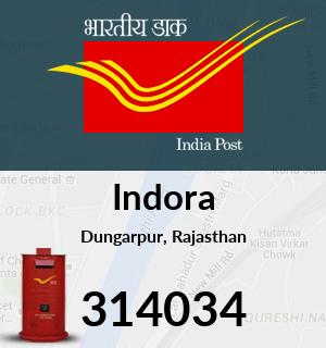 Indora Pincode - 314034