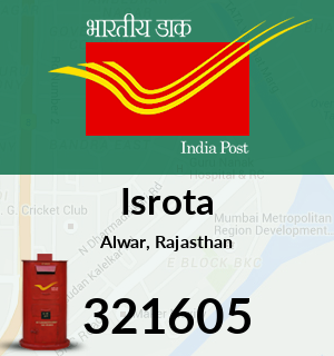 Isrota Pincode - 321605