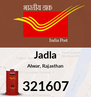 Jadla Pincode - 321607