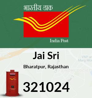Jai Sri Pincode - 321024