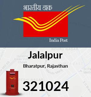 Jalalpur Pincode - 321024