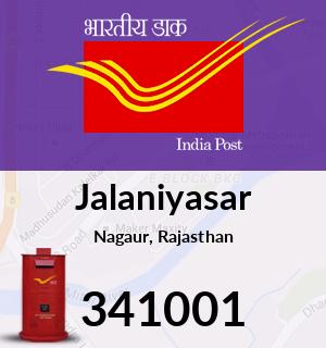 Jalaniyasar Pincode - 341001