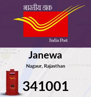 Janewa Pincode - 341001