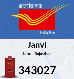 Janvi Pincode - 343027
