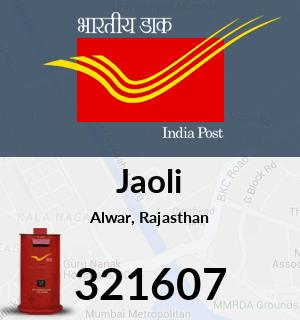 Jaoli Pincode - 321607