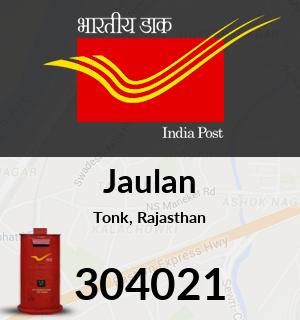 Jaulan Pincode - 304021