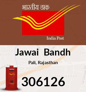 Jawai  Bandh Pincode - 306126