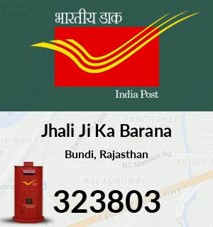 Jhali Ji Ka Barana Pincode - 323803