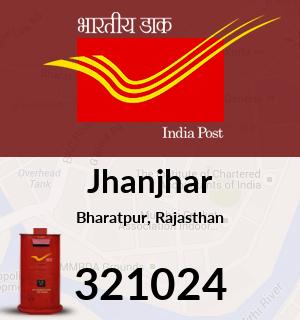 Jhanjhar Pincode - 321024