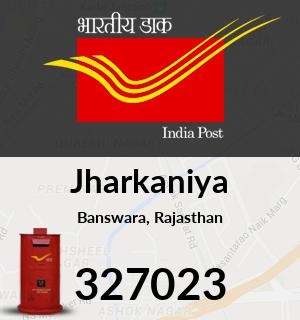 Jharkaniya Pincode - 327023