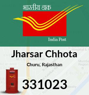 Jharsar Chhota Pincode - 331023