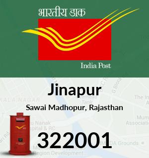 Jinapur Pincode - 322001