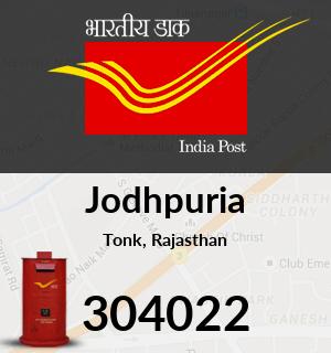Jodhpuria Pincode - 304022