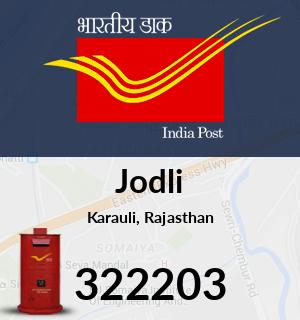 Jodli Pincode - 322203
