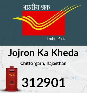 Jojron Ka Kheda Pincode - 312901