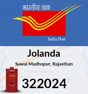 Jolanda Pincode - 322024