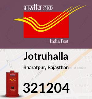 Jotruhalla Pincode - 321204