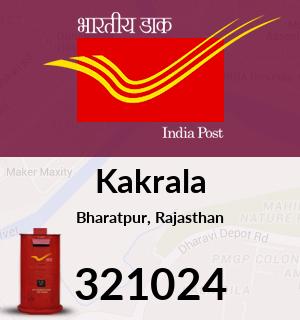 Kakrala Pincode - 321024