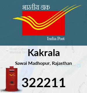 Kakrala Pincode - 322211