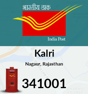 Kalri Pincode - 341001