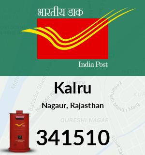 Kalru Pincode - 341510