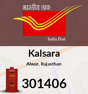 Kalsara Pincode - 301406