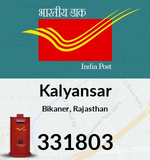 Kalyansar Pincode - 331803