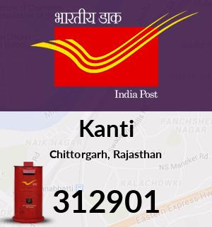Kanti Pincode - 312901