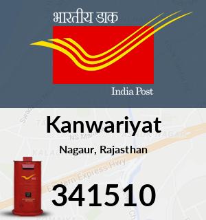 Kanwariyat Pincode - 341510