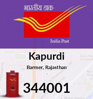Kapurdi Pincode - 344001