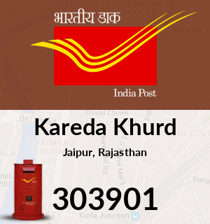 Kareda Khurd Pincode - 303901