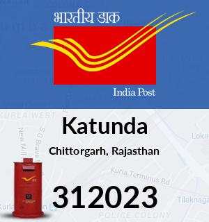 Katunda Pincode - 312023