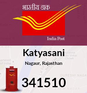Katyasani Pincode - 341510