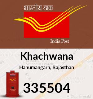 Khachwana Pincode - 335504