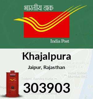 Khajalpura Pincode - 303903
