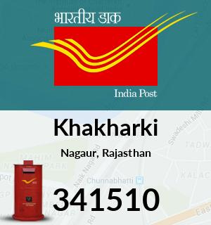 Khakharki Pincode - 341510