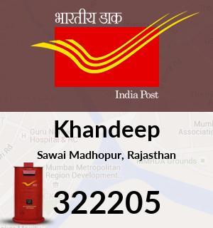 Khandeep Pincode - 322205