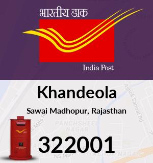 Khandeola Pincode - 322001