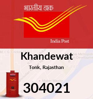 Khandewat Pincode - 304021