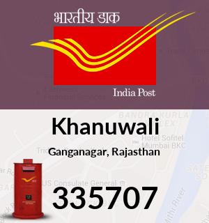 Khanuwali Pincode - 335707