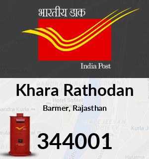 Khara Rathodan Pincode - 344001