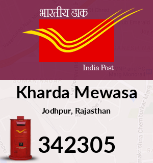 Kharda Mewasa Pincode - 342305